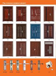 двери металлические входные бронированые   львов от 75S