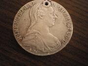 Монета серебряная,  Австро-Венгрия