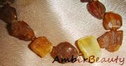 Лечебные бусы из янтаря
