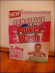 Пральний порошок Power Wash Sensitive Baby,  2, 4 кг