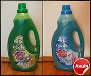 Акція! Гель для прання Power Wash: морська свіжість,  яблуко,  4l