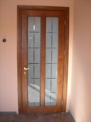 Двері з масиву сосни