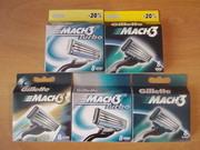 Сменные картриджи Gillette шампунь одноразовые бритвы