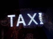 Світлодіодний банер «ТАКСІ» на лобове скло.