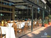 Фасадное остекление ресторанов,  кафе,  беседок,  балконов и лоджий