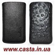 Интернет магазин Casta - кожаные чехлы для мобильных телефонов