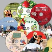 Друк кольоровий на CD/DVD –дисках