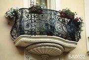 Кованные балконы,  кованные решетки ан окна,  кованные перила!
