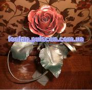 Ковані троянди квіти подарунок на новий Рік для дівчини Львів