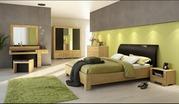 В коллекцию Mebin входят мебельные комплекты для спален,  гостиных,  сто