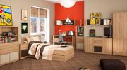 Мебель подростковая Figaro Новинка Спальня Wojcik Linate Фабрика Wojci