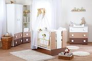 Кроватка детская Klups Safari Zyrafka с ящиком - безопасная детская кр