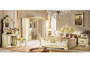 Спальня Leonardo дополняет коллекцию,  в которой сочетание стиля барокк
