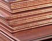 Медный лист М1,  0, 5мм - 50мм (600х1500)