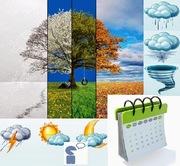 """Заняття з іспанської мови """"Календар,  пори року і погода""""."""