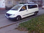 Перевезення пасажирські зі Львова мікроавтобусами від 3 до 20 місць