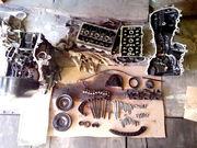 Двигун Skoda Fabia Комбі-В 1.2 L,  2006 р.в. Бензин. Були погнуті клапа