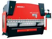 Гидравлические гибочные пресса Yangli серии MB8 с полноформатным ЧПУ D