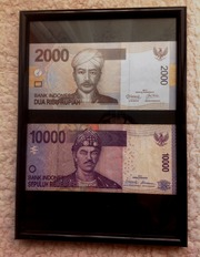 рупии Индонезии+Индии