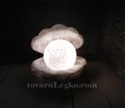 Соляная лампа Жемчужина