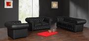 Ровно мягкую кожаную мебель можно заказать как в современном так и в к