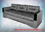 Сучасний диван єврокнижка з дерев