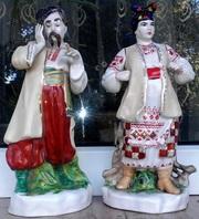 Статуетки: Карась і Одарка. Знаменита скульптурна група Карась та Одар