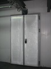 Двери холодильные распашные для камер