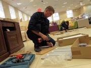 Складання,  розбирання, ремонт меблів.