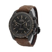 Omega Speedmaster Moonwatch Co-Axial Black Dial Chronograph