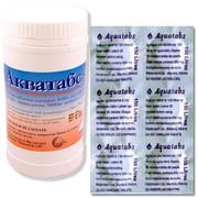 Таблетки для обеззараживания воды Акватабс