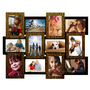 Мультирамка на 12 фото,  фоторамка,  коллаж для фотографий